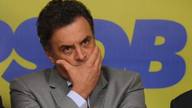 O senador Aécio Neves (PSDB-MG) (Foto: Antonio Cruz/Agência Brasil)