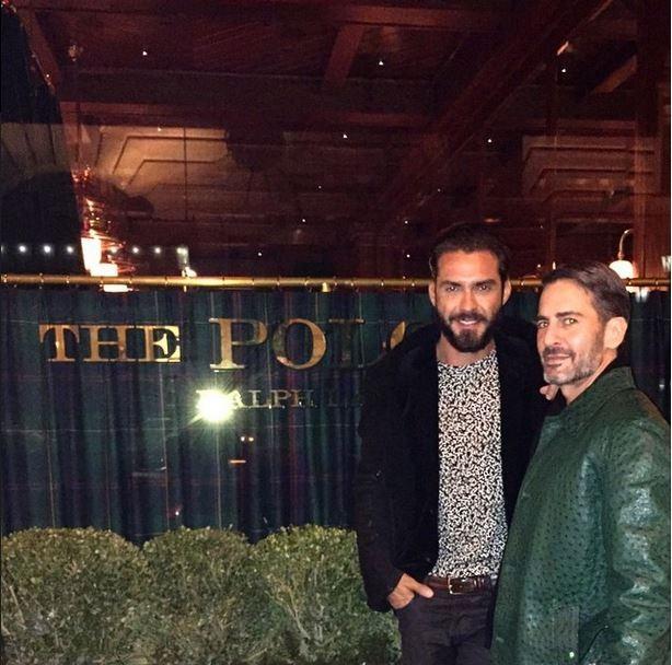 Marc Jacobs e Lorenço Martone (Foto: Instagram / reprodução)