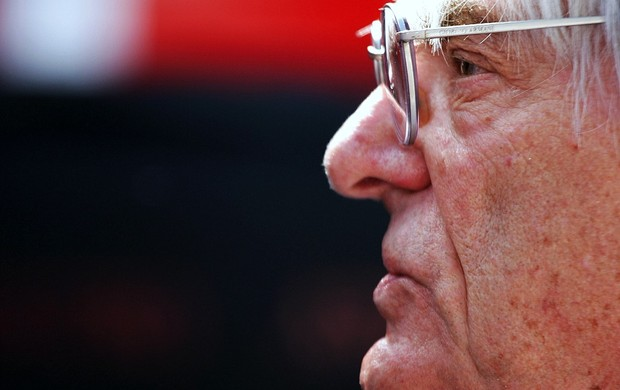 Bernie Ecclestone chefe comercial da Fórmula 1 (Foto: Getty Images)