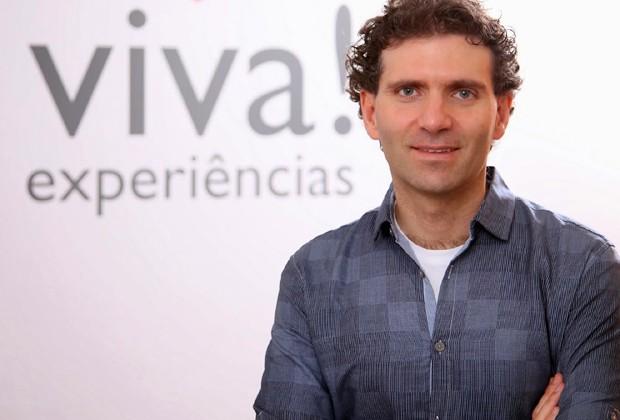 André Susskind, um dos sócios da Viva! Experiência (Foto: Divulgação)