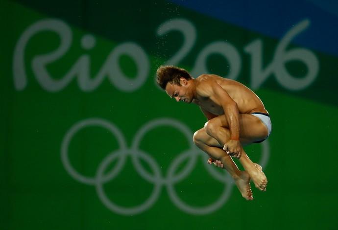 O britânico Tom Daley - plataforma 10m saltos ornamenais (Foto: Getty Images)