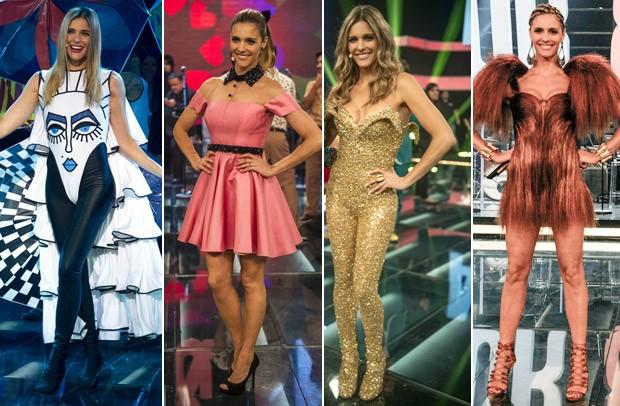 Fernanda Lima usa roupas ousadas e cheias de glamour em seu programa, alm de dar destaque para jovens estilistas brasileiros (Foto: Divulgao/TV Globo)