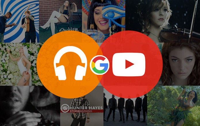 Google possui quatro serviços e aplicativos diferentes para YouTube e Play Music (Foto: Arte/Divulgação)