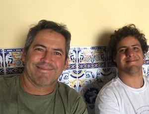 BLOG: Pai e filho: Na Europa, Fabinho e Ian Gouveia unem forças por resultados certeiros