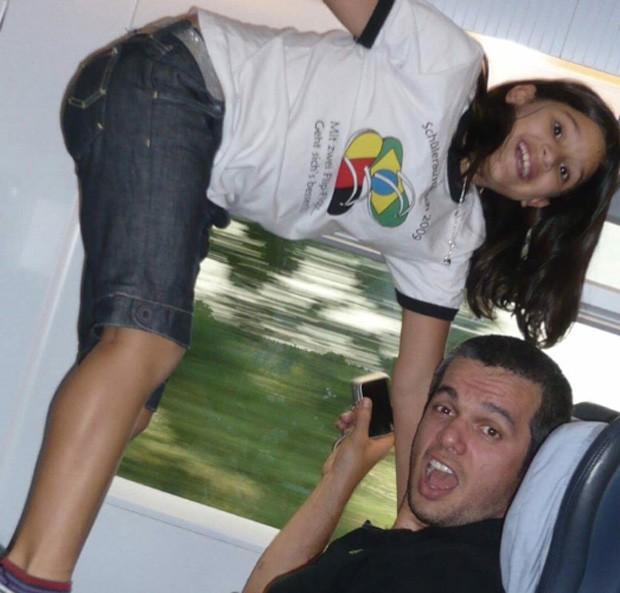 Giulia Costa e Otaviano Costa (Foto: reprodução)