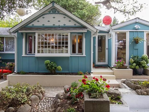 O estúdio em Pacific Grove, na Califórnia, pertenceu ao escritor John Steinbeck nos anos 1940  (Foto: Reprodução/Airbnb)