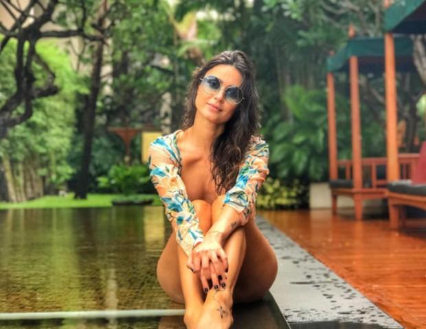 Thaila Ayala na Tailândia (Foto: Reprodução/Instagram)