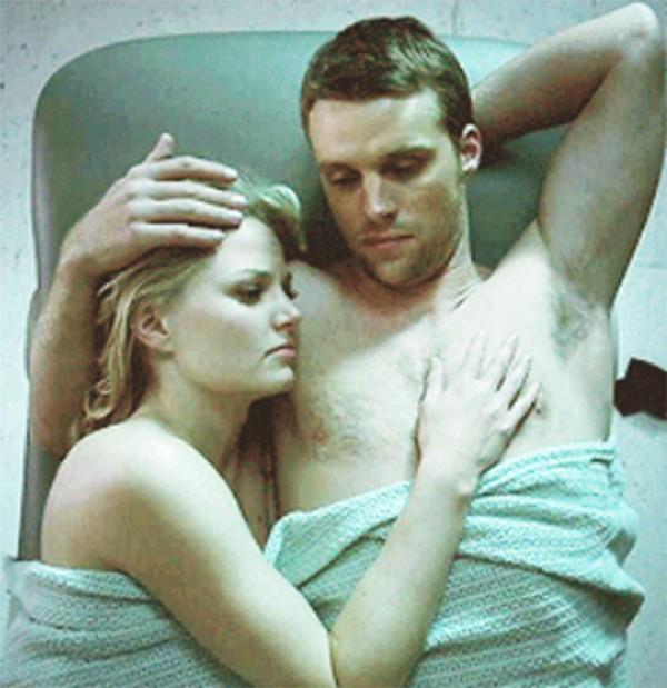 Jesse Spencer e Jennifer Morrison em 'House' (Foto: Reprodução)