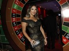 Geisy Arruda na festa de MC Gui: 'Vim com meu vestido mais caro'