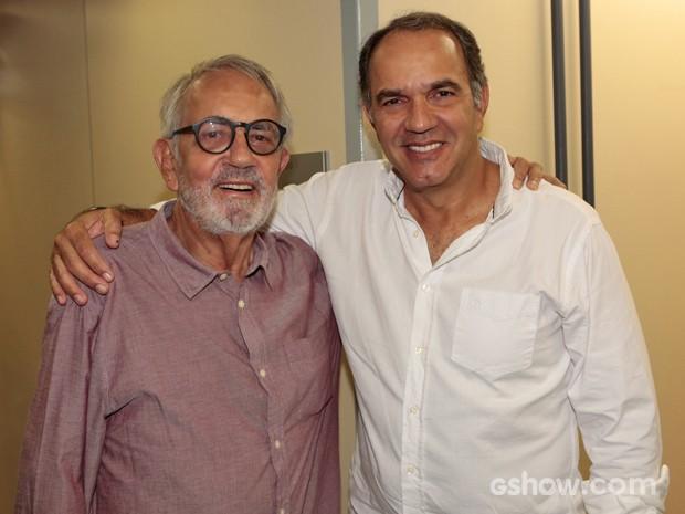 Paulo José será o pai de Virgílio, personagem de Humberto Martins (Foto: Felipe Monteiro/ TV Globo)