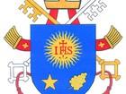 Vaticano divulga brasão de Papa Francisco (Escritório de Imprensa da Santa Sé/AFP)