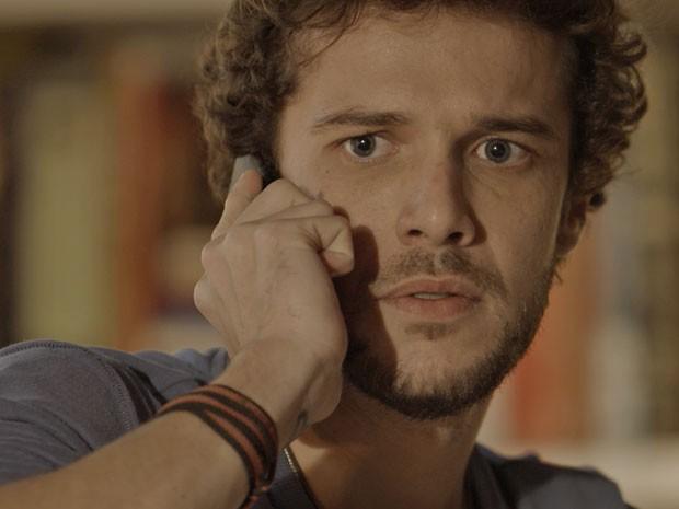E acaba sobrando para Pedro.... (Foto: TV Globo)