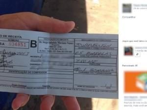 Anúncio em rede social vende receita médica de anabolizante em Goiânia, Goiás (Foto: Internauta/VC no G1)