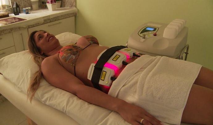 Lipo sem cirurgia é a nova tendência estética  (Foto: Reprodução / TV Diário )
