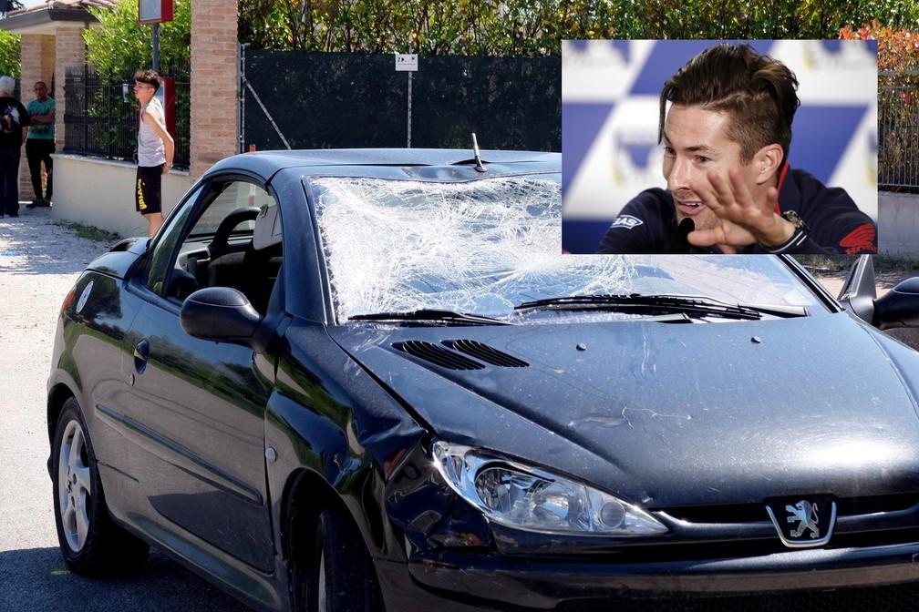 Nicky Hayden sofreu acidente de bicicleta (Foto: Tommaso Torri/ANSA via AP)