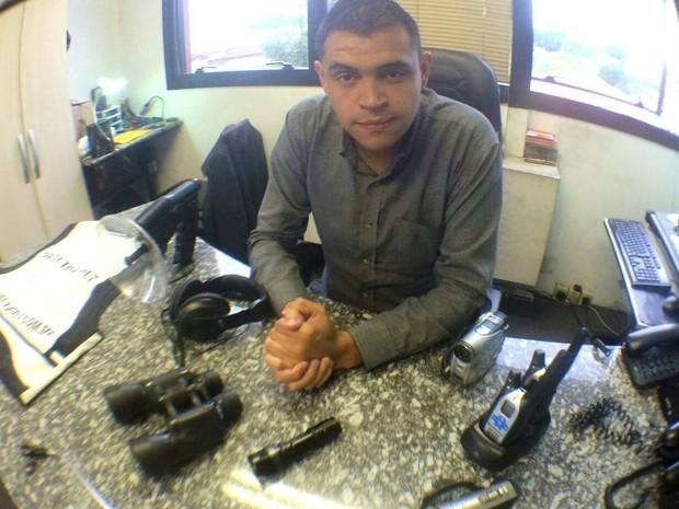 Raul é o responsável por achar animais na Baixada Santista (Foto: Arquivo Pessoal / Raul Rocha)