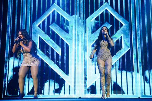 Show da dupla Simone e Simaria em São Paulo (Foto: Manuela Scarpa/Brazil News)