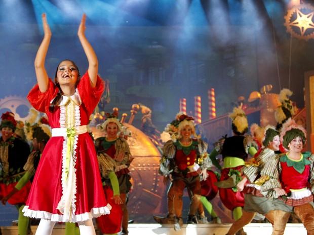 Giada Fantástica Fábrica de Natal (Foto: Cleiton Thiele/SerraPress)