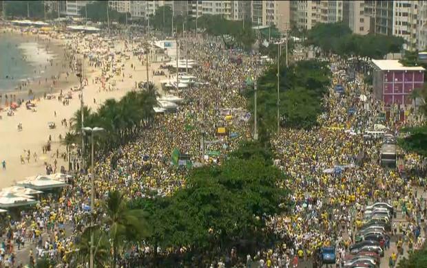 Protestos no Rio (GloboNews)