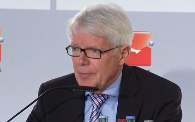 Reinhard Rauball, presidente da Bundesliga (Foto: Reprodução / SporTV)