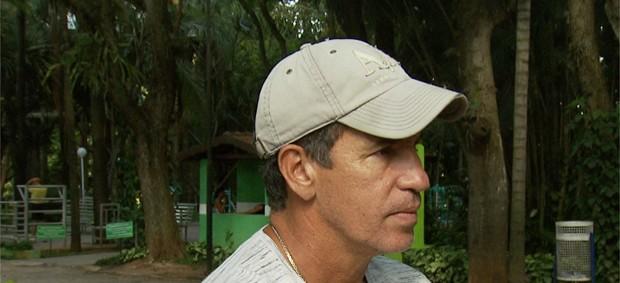 Careca, ex-artilheiro do Guarani (Foto: Reprodução EPTV)