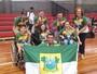 Rio Grande do Norte é campeão geral da bocha nas Paralimpíadas Escolares