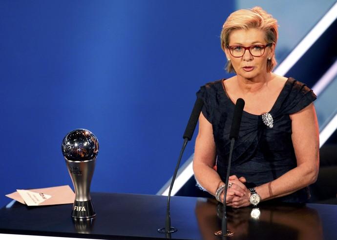 Silvia Neid técnica Alemanha melhor do mundo Fifa (Foto: Ruben Sprich/Reuters)