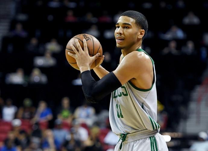 Jayson Tatum Boston Celtics Liga de Verão NBA (Foto: Ethan Miller / Equipa / Getty Image)