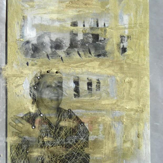 Susi Cantarino - obra exposta na Califórnia (Foto: Divulgação)