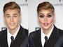 Justin Bieber, Kanye West e mais famosos viram drag queens nas mãos de blogueiro