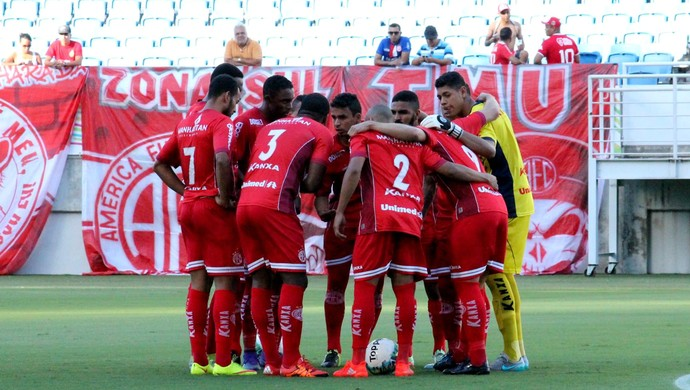 América-RN - Ewerton, goleiro - Arena das Dunas (Foto: Canindé Pereira/América FC/ Divulgação)