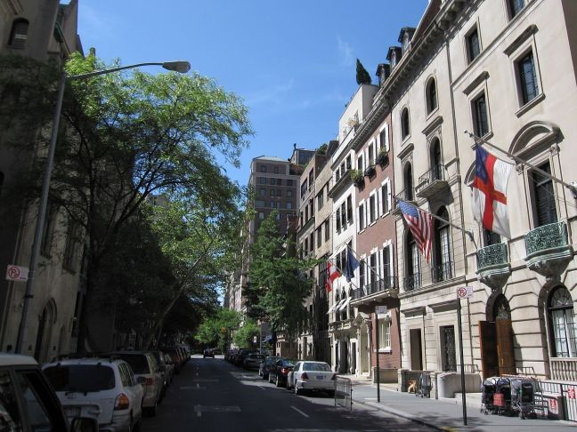 Rua 69, Upper East Side, Manhattan, NY (Foto: New York CityTourist)