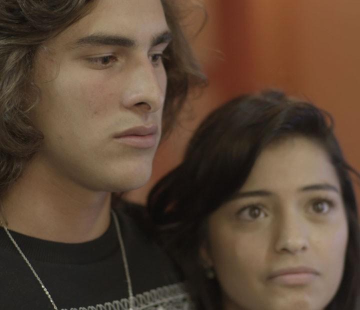 Glauco fica preocupado com rima de Cleyton (Foto: TV Globo)