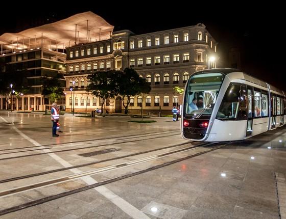 VLT, bonde que vai ser usado durante as olimpíadas (Foto: Divulgação)