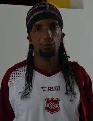 Léo Olinda, Meia do Auto Esporte (Foto: Hévilla Wanderley / GloboEsporte.com/pb)