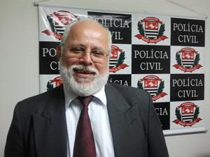 Delegado Windor Claro Gomes, responsável pelo caso (Foto: Suellen Fernandes/G1)