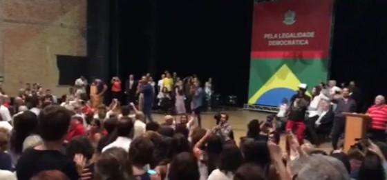 Encontro de movimentos sociais no Tuca, em São Paulo (Foto: ÉPOCA)
