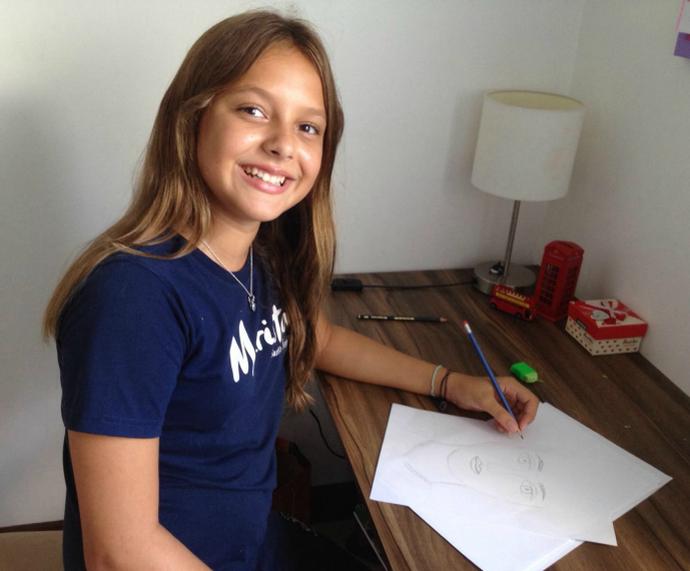 Laura Schadeck do The Voice Kids (Foto: Arquivo Pessoal)