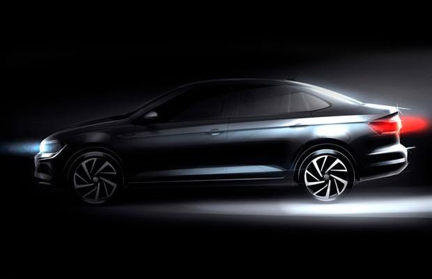 Teaser do Volkswagen Virtus (Foto: Volkswagen)