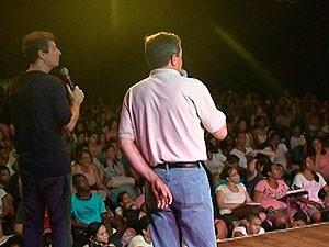 Projeto reúne professores para dar dicas a jovens que farão Enem (Foto: Reprodução/ TV Subaé)