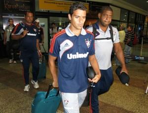 Jean Desembarque do Fluminense (Foto: Edgard Maciel)