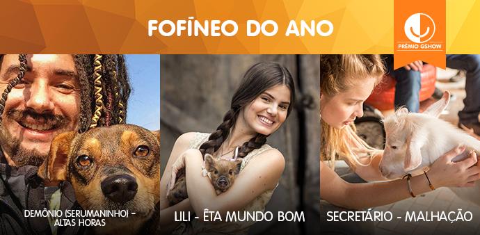 Fofíneo do Ano (Foto: TV Globo)
