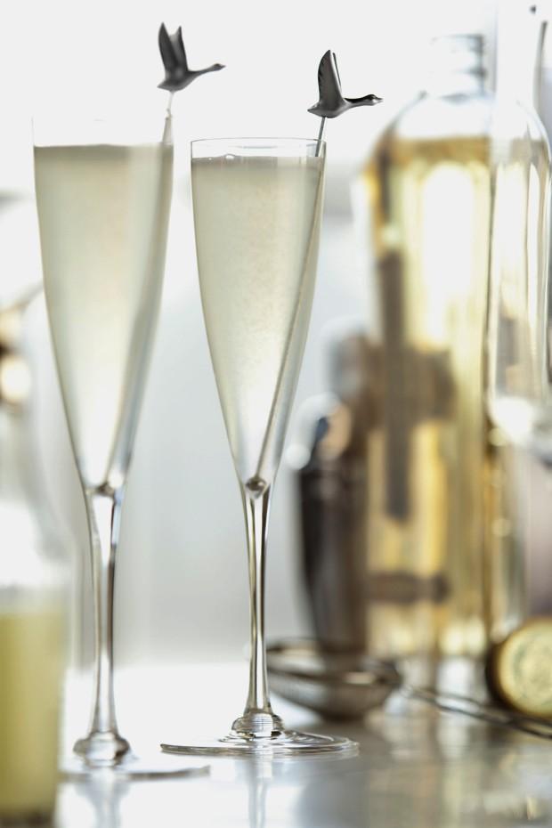 O Le Fizz, drink criado pela Grey Goose para o Oscar (Foto: Divulgação)
