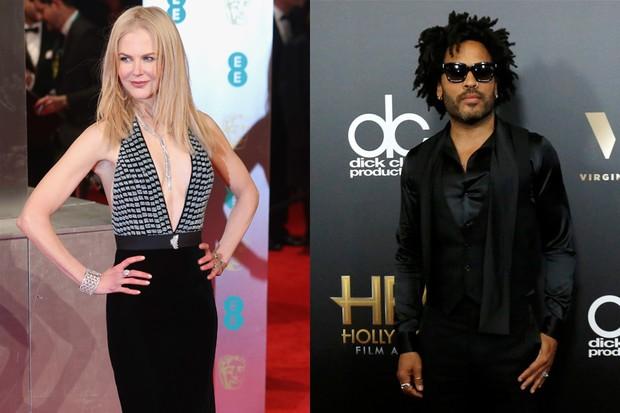 Nicole Kidman e Lenny Kravitz (Foto: Agência Getty Images - Mario Anzuoni/ Reuters)