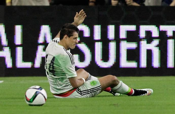 México 0 x 0 Honduras Chicharito Hernández - AP (Foto: AP)