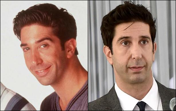 Ross, ou melhor, o ator David Schwimmer está com 48 anos. Em outubro de 1997, ele ainda tinha apenas 30. (Foto: Getty Images)
