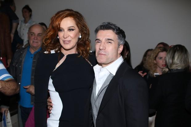 Claudia Raia e Jarbas Homem de Mello (Foto: Thiago Duran/AgNews)