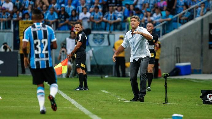 Renato Grêmio Inter Gre-Nal (Foto: Lucas Uebel/Divulgação Grêmio)