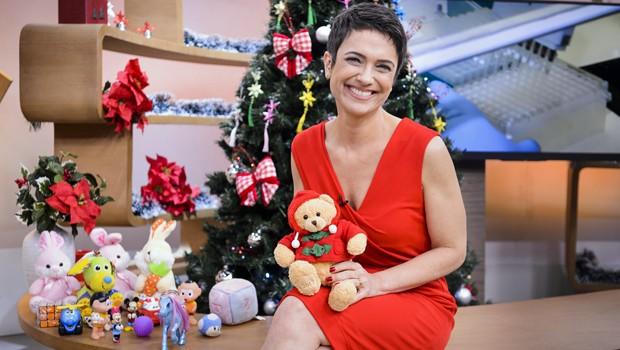 Sandra Annenberg comanda o Como Será? dedicado ao Natal (Foto: Globo)