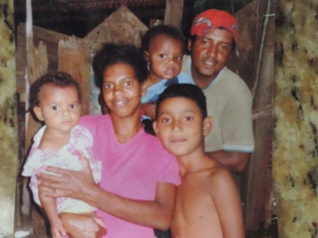 Mãe e filhos estão desaparecidos, segundo marido (Foto: Marcos dos Santos / Arquvo Pessoal)